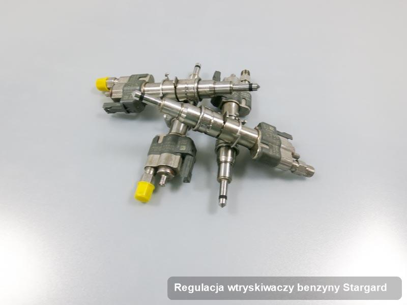 Wtryskiwacz do benzyny wyremontowany na profesjonalnej aparaturze pomiarowej po przeprowadzeniu usługi regulacja wtryskiwaczy benzyny w jednym z warsztatów w Stargardzie