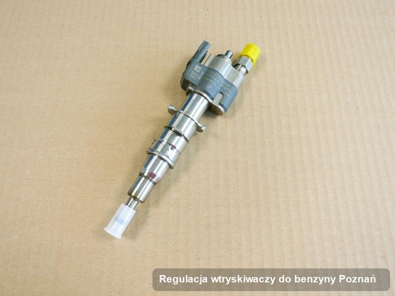 Wtrysk wyczyszczony na dedykowanej maszynie po przeprowadzeniu zlecenia regulacja wtryskiwaczy do benzyny w wybranej z firm w mieście Poznań