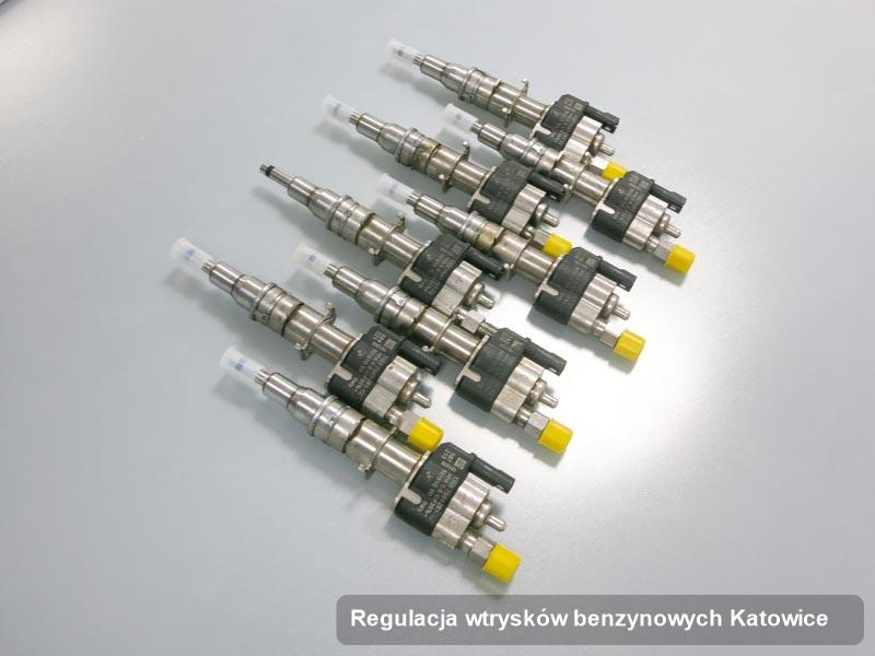 Wtryskiwacz do benzyny naprawiony na odpowiedniej stacji diagnostycznej po wdrożeniu usługi regulacja wtrysków benzynowych w wybranym z warsztatów w Katowicach