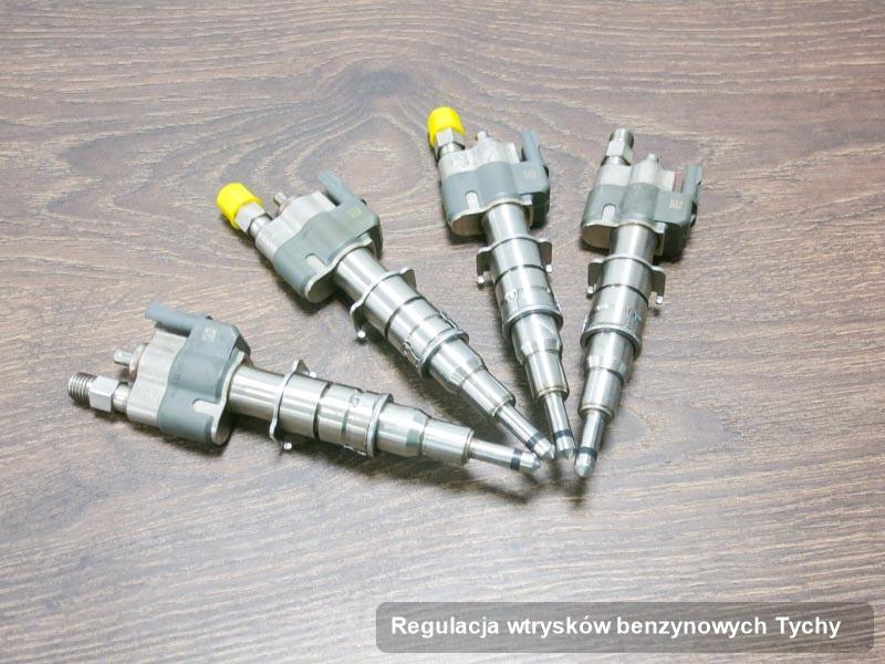 Wtrysk do benzyny wyremontowany na profesjonalnej aparaturze pomiarowej po wykonaniu usługi regulacja wtrysków benzynowych w dostępnej firmie z Tych