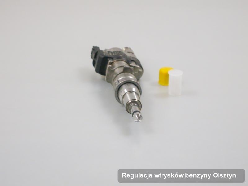 Wtryskiwacz do benzyny zregenerowany poprzez czyszczenie na dedykowanej maszynie po wdrożeniu serwisu regulacja wtrysków benzyny w dostępnej firmie w mieście Olsztyn