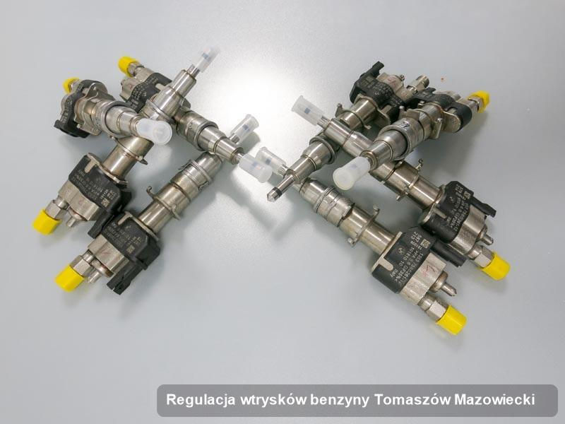 Wtrysk benzyny wyremontowany na dedykowanej stacji probierczej po przeprowadzeniu zlecenia regulacja wtrysków benzyny w wybranej z firm w Tomaszowie Mazowieckim