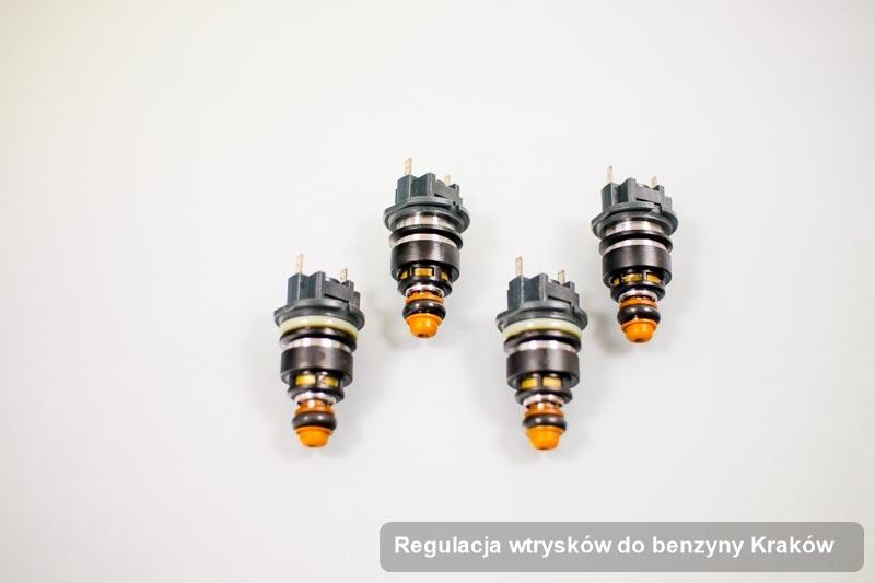 Wtryskiwacz do benzyny zdiagnozowany na specjalistycznej aparaturze pomiarowej po wykonaniu zlecenia regulacja wtrysków do benzyny w dostępnym warsztacie w mieście Kraków