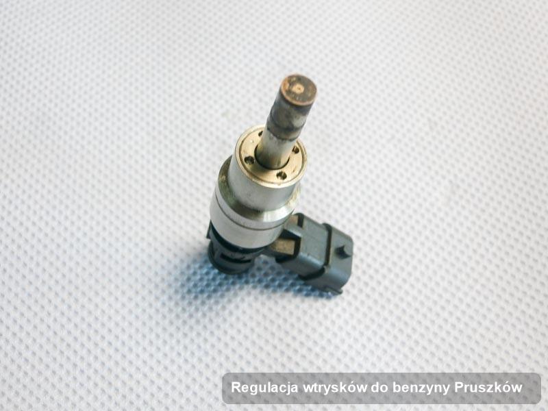 Wtrysk benzyny wyremontowany na dedykowanej aparaturze pomiarowej po wdrożeniu usługi regulacja wtrysków do benzyny w jednej z firm w mieście Pruszków