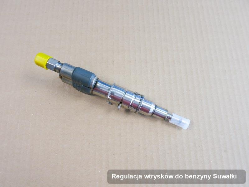 Wtryskiwacz naprawiony na specjalistycznej aparaturze pomiarowej po wykonaniu usługi regulacja wtrysków do benzyny w jednej z pracowni z Suwałk