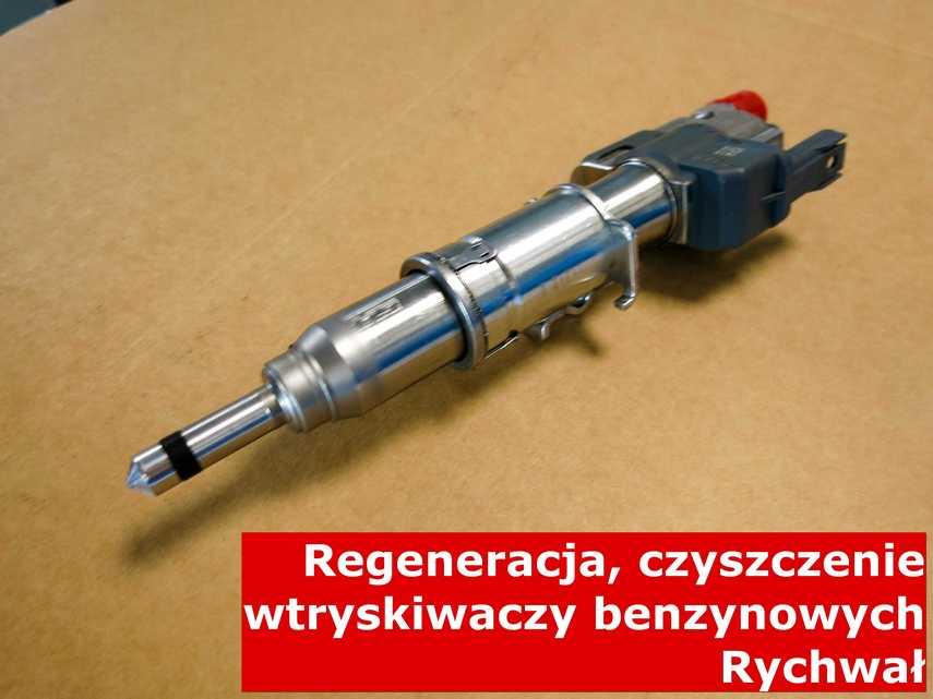 Wtrysk benzynowy w Rychwale w laboratorium, po przywróceniu sprawności na nowoczesnym sprzęcie