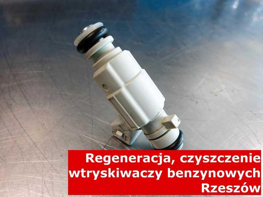 Wtryskiwaczy benzynowy z Rzeszowa w zakładzie regeneracji, zrewitalizowany na odpowiednim sprzęcie