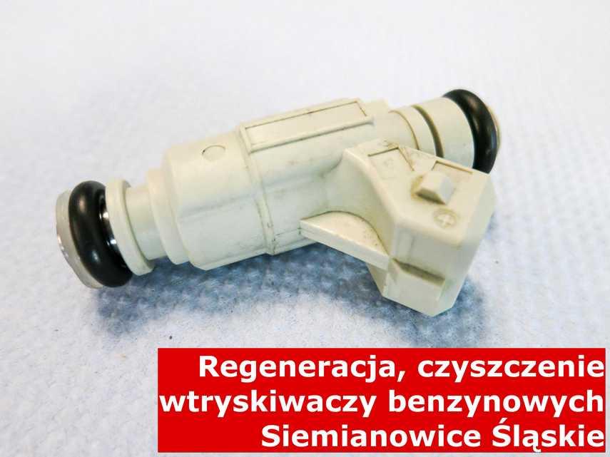 Wtrysk benzyny w Siemianowicach Śląskich po regeneracji, wyczyszczony na specjalnym sprzęcie