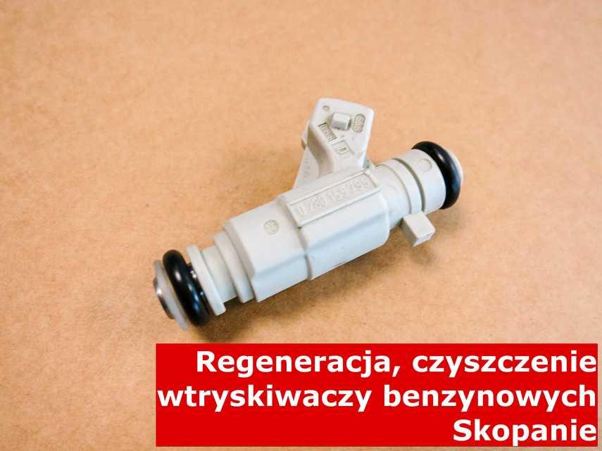Wtrysk wtrysku pośredniego z Skopania w pracowni, zregenerowany przy pomocy odpowiedniej maszyny