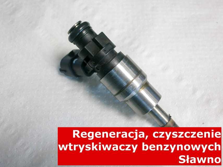 Wtryskiwacz piezoelektryczny benzynowy z Sławna po regeneracji, wyczyszczony na odpowiedniej maszynie