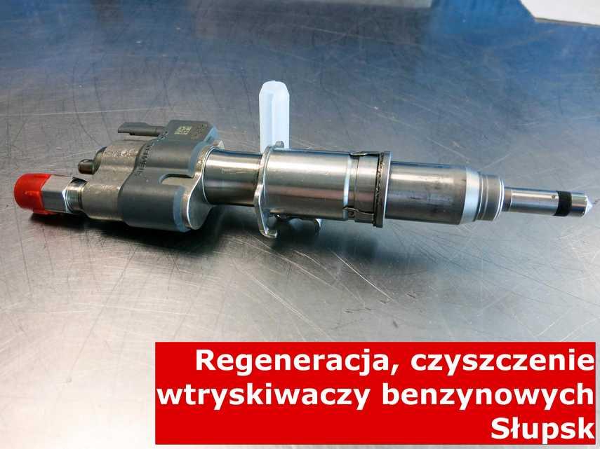 Wtryskiwaczy benzynowy z Słupska w zakładzie regeneracji, zrewitalizowany na specjalnym sprzęcie