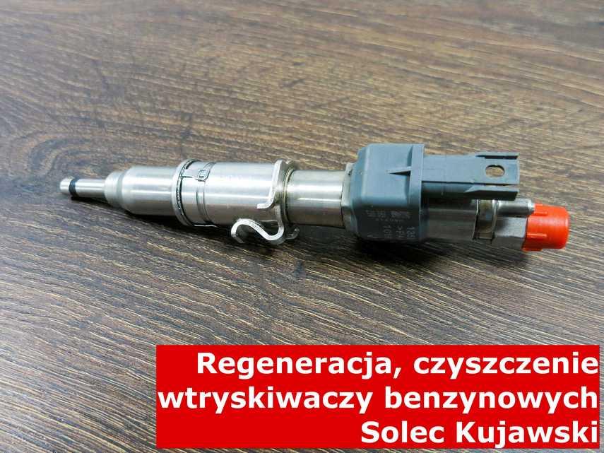 Wtryskiwacz pośredni jednopunktowy z Solca Kujawskiego po naprawie, zregenerowany na specjalnym sprzęcie