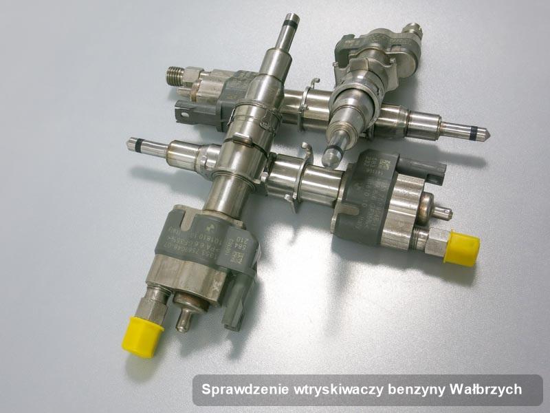 Wtryskiwacz benzyny naprawiony na specjalistycznej aparaturze pomiarowej po wykonaniu zlecenia sprawdzenie wtryskiwaczy benzyny w dostępnym warsztacie w mieście Wałbrzych