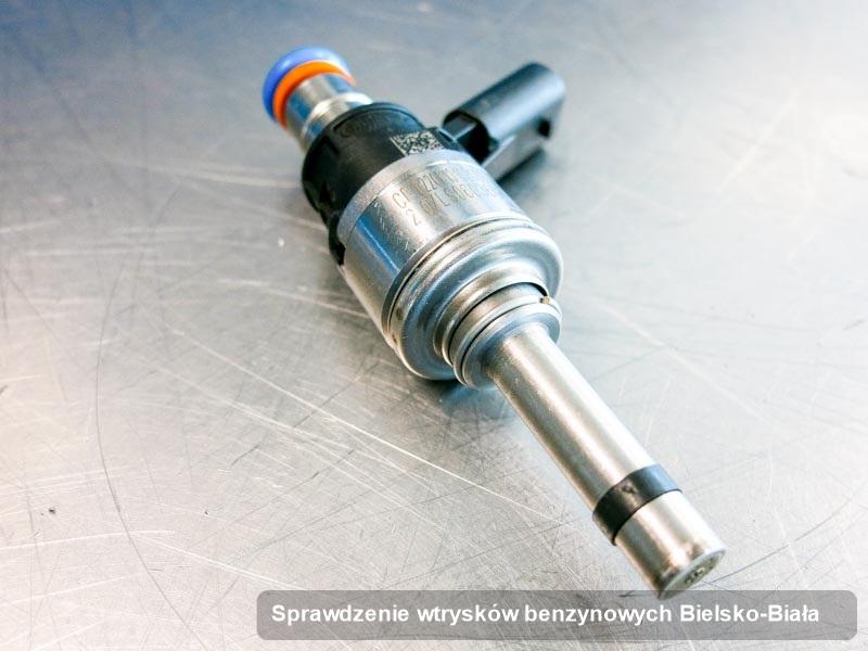 Wtrysk zregenerowany poprzez czyszczenie na profesjonalnej aparaturze pomiarowej po przeprowadzeniu serwisu sprawdzenie wtrysków benzynowych w dostępnym warsztacie w Bielsku-Białej