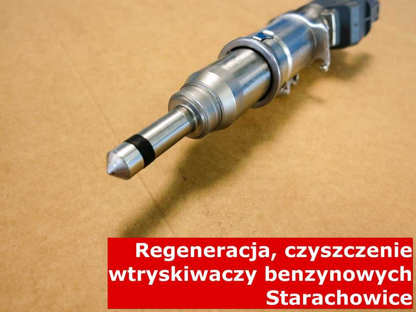 Wtryskiwacz benzyny w Starachowicach w laboratorium, testowany przy pomocy odpowiedniej maszyny