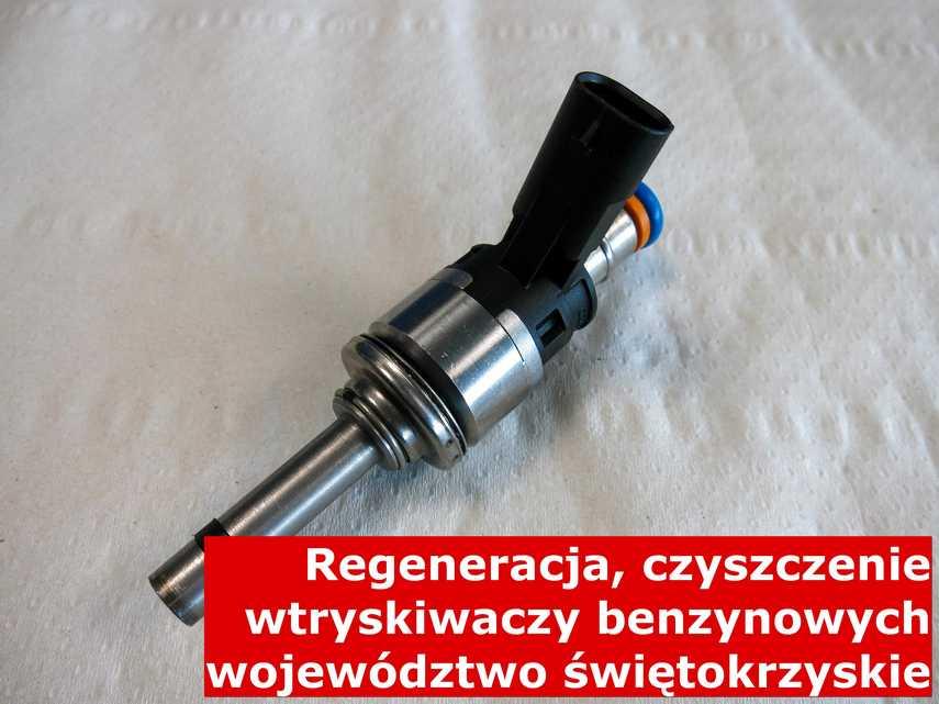 Wtryskiwacz bezpośredni wielopunktowy z województwa świętokrzyskiego po regeneracji, naprawiony przy pomocy odpowiedniej maszyny