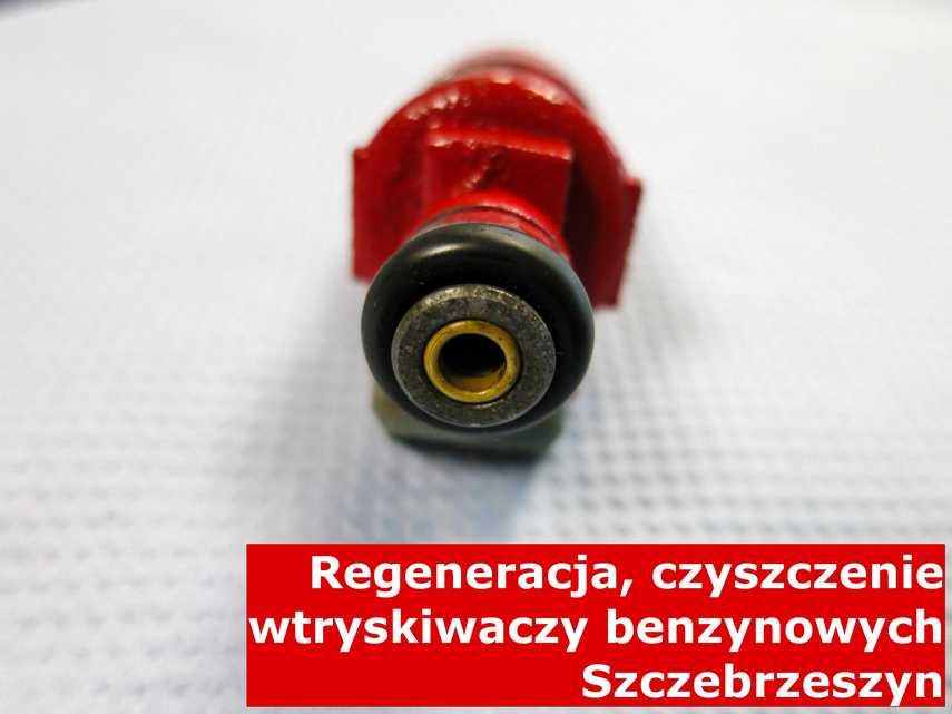 Wtrysk benzyny z Szczebrzeszyna w pracowni na stole, naprawiony na odpowiedniej maszynie