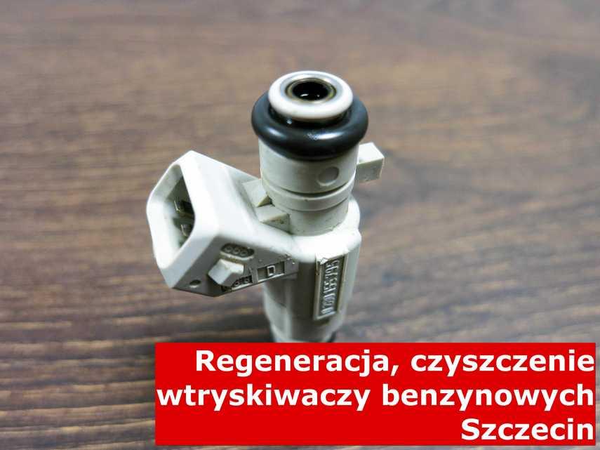 Wtrysk benzynowy po regeneracji, zregenerowany przy pomocy specjalnej maszyny • powiat szczecin