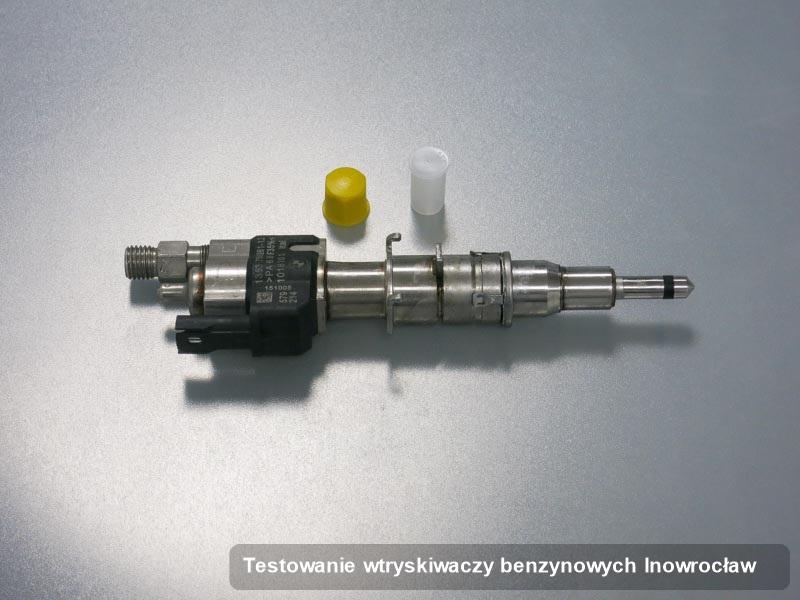Wtryskiwacz do benzyny wyczyszczony na specjalnej aparaturze pomiarowej po zrealizowaniu zlecenia testowanie wtryskiwaczy benzynowych w dostępnej firmie w mieście Inowrocław