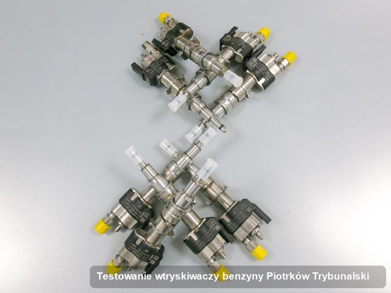 Wtrysk do benzyny zdiagnozowany na specjalnej stacji probierczej po wykonaniu usługi testowanie wtryskiwaczy benzyny w wybranej pracowni w mieście Piotrków Trybunalski