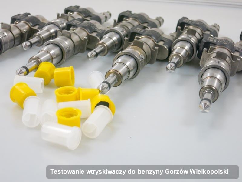 Wtryskiwacz benzyny zregenerowany poprzez czyszczenie na profesjonalnej stacji diagnostycznej po przeprowadzeniu zlecenia testowanie wtryskiwaczy do benzyny w dostępnej pracowni w mieście Gorzów Wielkopolski