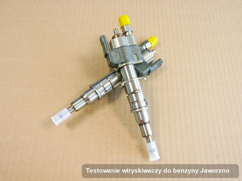 Wtryskiwacz zregenerowany poprzez czyszczenie na odpowiedniej stacji probierczej po wykonaniu usługi testowanie wtryskiwaczy do benzyny w wybranej pracowni w mieście Jaworzno