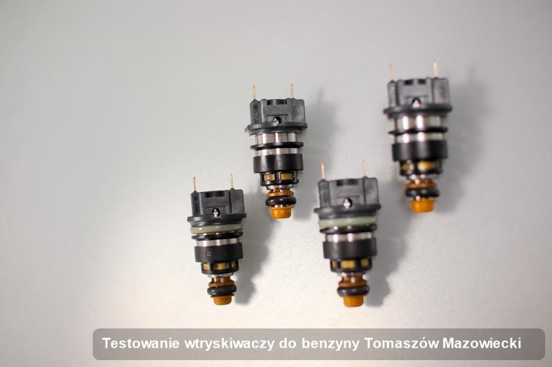 Wtrysk benzyny zdiagnozowany na specjalnej stacji diagnostycznej po przeprowadzeniu usługi testowanie wtryskiwaczy do benzyny w jednym z warsztatów z Tomaszowa Mazowieckiego