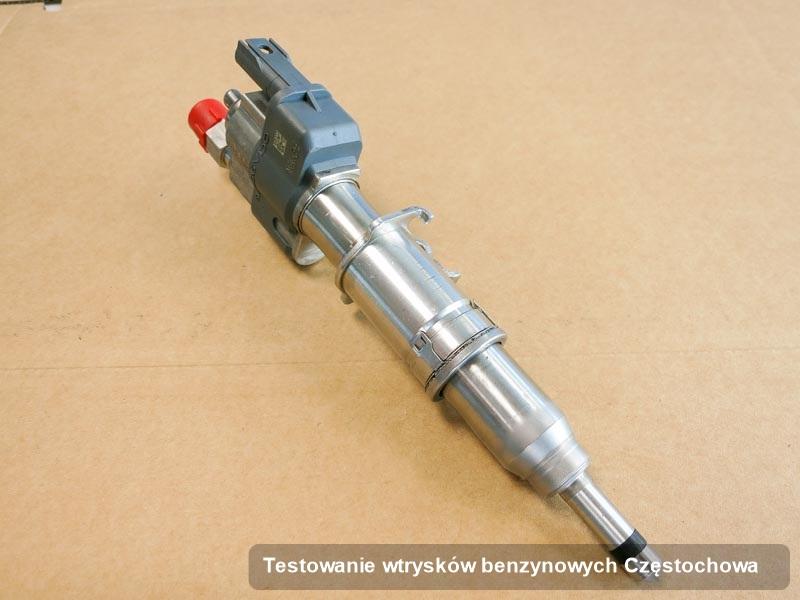 Wtrysk benzyny zdiagnozowany na specjalistycznej maszynie po wdrożeniu serwisu testowanie wtrysków benzynowych w wybranej z firm w mieście Częstochowa