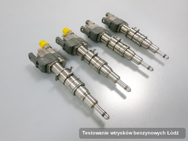 Wtryskiwacz naprawiony na profesjonalnej maszynie po wdrożeniu usługi testowanie wtrysków benzynowych w wybranej z firm w mieście Łódź
