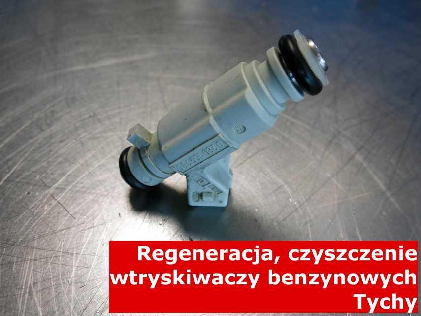 Wtryskiwacz wtrysku bezpośredniego z Tych na stole w laboratorium, zregenerowany przy pomocy specjalnej maszyny