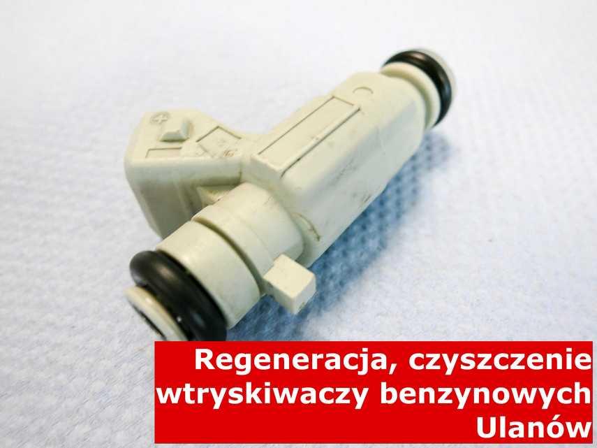 Wtryskiwaczy benzynowy z Ulanowa w laboratorium, po przywróceniu sprawności przy pomocy nowoczesnego sprzętu