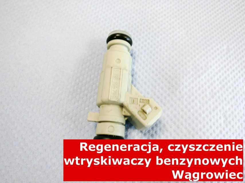 Wtryskiwacz piezoelektryczny benzynowy z Wągrowca po czyszczeniu, naprawiony przy pomocy nowoczesnej maszyny