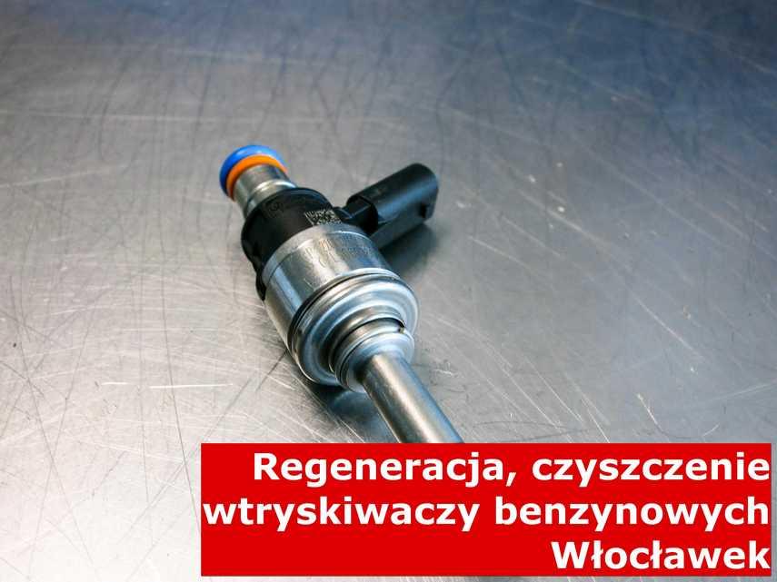 Wtrysk wtrysku bezpośredniego z Włocławka po naprawie, wyczyszczony przy pomocy odpowiedniego sprzętu