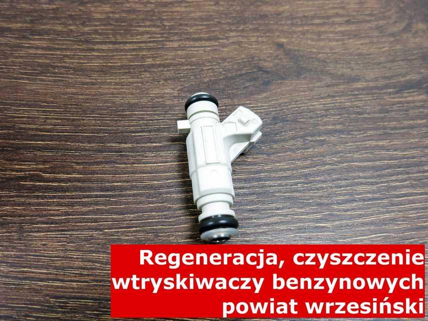Wtrysk benzyny w zakładzie regeneracji, zregenerowany przy pomocy odpowiedniej maszyny • powiat wrzesiński