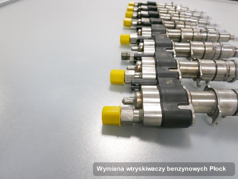 Wtryskiwacz benzyny wyczyszczony na profesjonalnej stacji diagnostycznej po przeprowadzeniu zlecenia wymiana wtryskiwaczy benzynowych w dostępnym warsztacie w Płocku