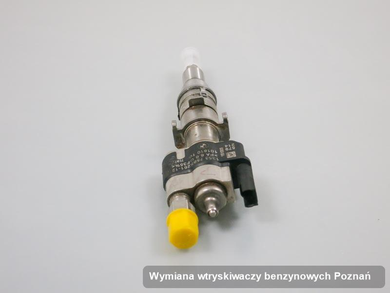 Wtrysk wyremontowany na specjalnej aparaturze pomiarowej po wykonaniu usługi wymiana wtryskiwaczy benzynowych w wybranej pracowni z Poznania
