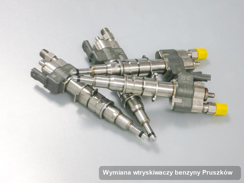 Wtryskiwacz do benzyny wyczyszczony na odpowiedniej maszynie po wykonaniu usługi wymiana wtryskiwaczy benzyny w wybranej z firm w Pruszkowie