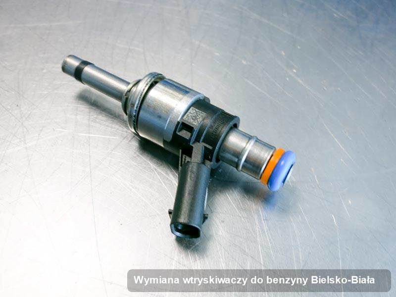 Wtrysk benzyny naprawiony na profesjonalnej aparaturze pomiarowej po zrealizowaniu usługi wymiana wtryskiwaczy do benzyny w jednej z firm w Bielsku-Białej