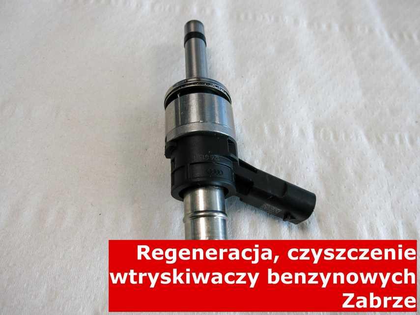 Wtryskiwacz jednopunktowy z Zabrza w zakładzie regeneracji, po przywróceniu sprawności na odpowiedniej maszynie